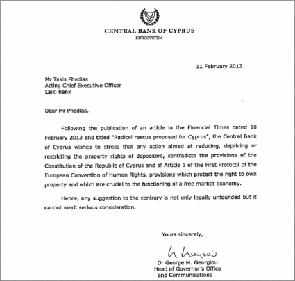 Central Bank of Cyprus Memo.png