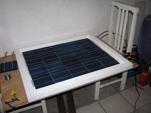 Solar panels - first panel cells done.jpg