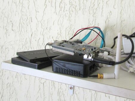 BananaPi with external drives and SATA.jpg