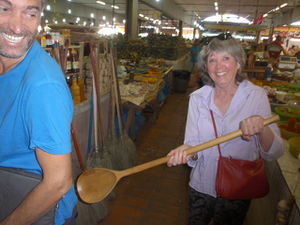 Mum with huge wooden spoon.jpg